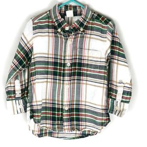 Baby Gap Flannel Plaid Shirt 2